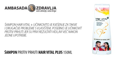 Šampon protiv prhuti Hair Vital Plus 150ml